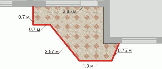 Серия дома пд 4 планировка размер балкона.